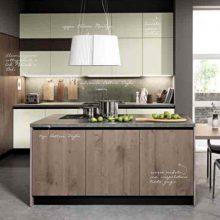 Cucina componibile moderna (Mobilegno) Roberta 8
