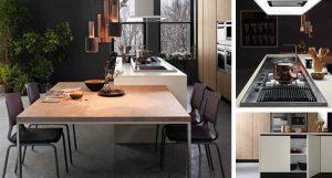 Cucina componibile moderna (Mobilegno) Roberta 9