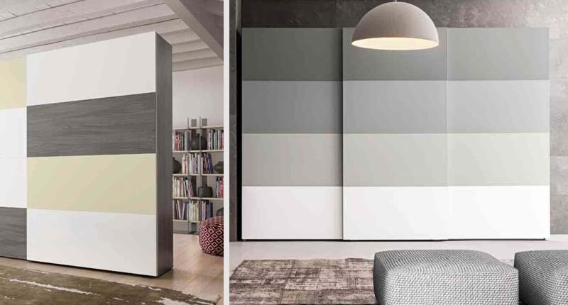 Beautiful Armadi Ante Scorrevoli Economici Contemporary - Design ...
