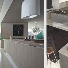 Cucina componibile moderna (Mobilegno) Ambra 8