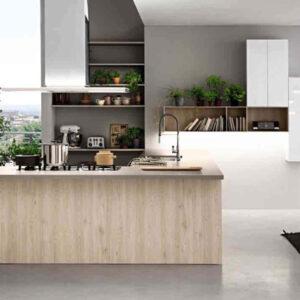 Cucina componibile moderna (Mobilegno) Angela 1