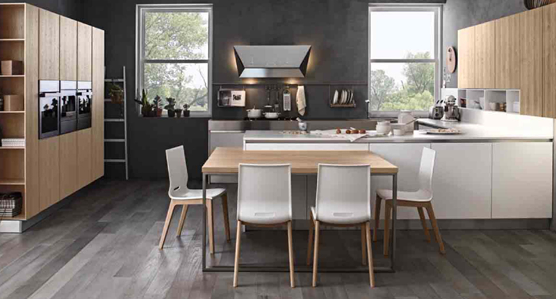 Cucina componibile moderna (Mobilegno) Clara 2