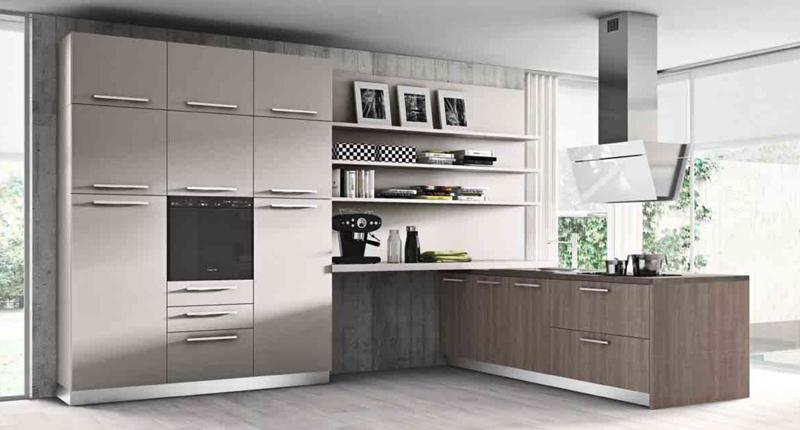 Cucina componibile moderna (Mobilegno) Clara 8