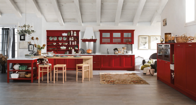 Cucina COUNTRY – Luigi Fontana Arredamenti Lissone