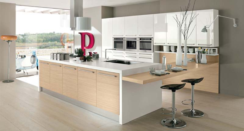 Cucina componibile moderna (Mobilegno) Ingrid 4
