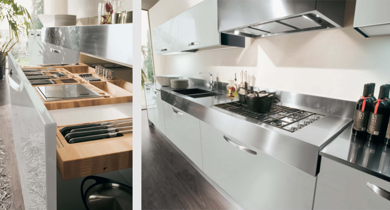 Cucina componibile moderna (Mobilegno) Ingrid 7