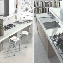 Cucina componibile moderna (Mobilegno) Ambra 4