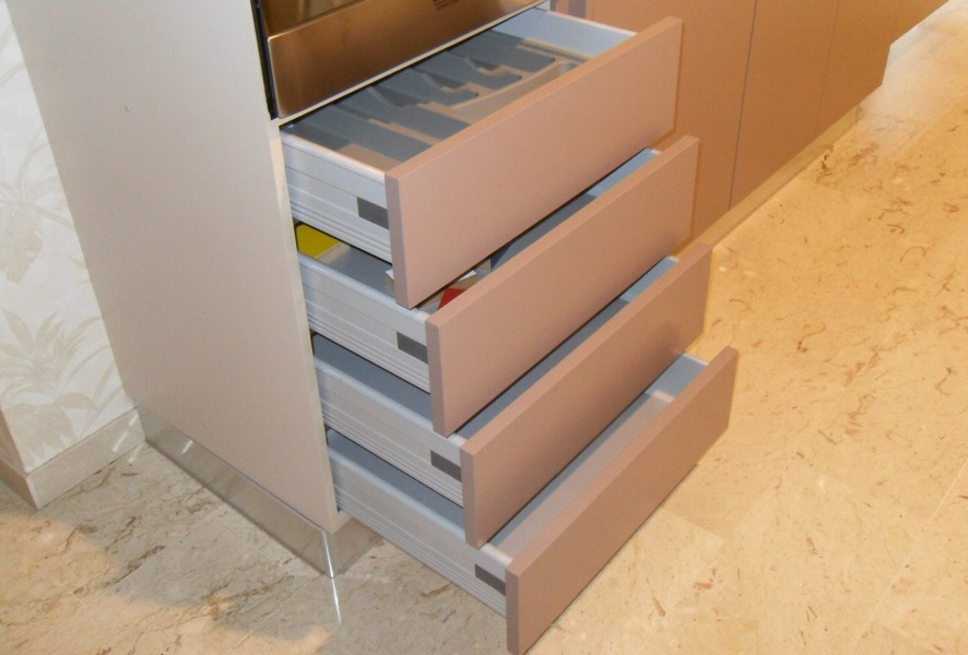 Cassetti di Ar Tre Cucine outlet - Luigi Fontana Arredamenti Lissone -