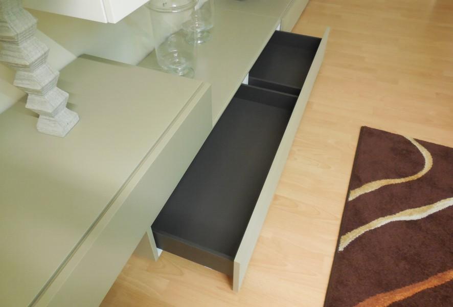 Base con cestone del soggiorno moderno outlet Mood - Luigi Fontana Arredamenti Lissone -
