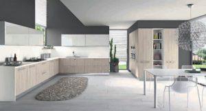 Cucina componibile moderna (Mobilegno) Ambra 1