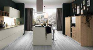 Cucina componibile moderna (Mobilegno) Angela 5