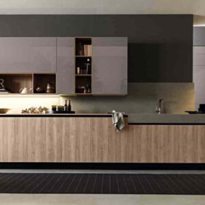 Cucina componibile moderna (Mobilegno) Clara 1