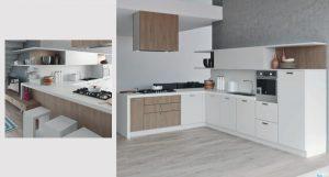 Cucina componibile moderna (Dbs) Irene 2