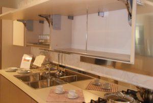Pensile aperto e scolapiatti di Ar Tre Cucine outlet - Luigi Fontana Arredamenti Lissone -